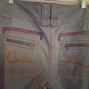 cabi #675 Utility Militant Chino Pants, Size 12